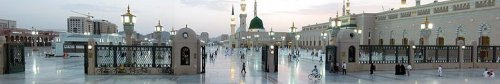 Madina_Haram_at_evening_.jpg