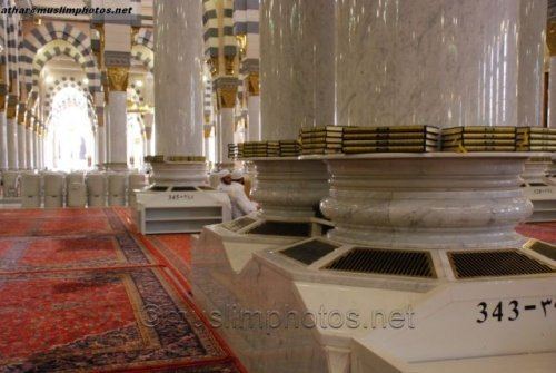 interior of masjid nabawi pillar base.jpg