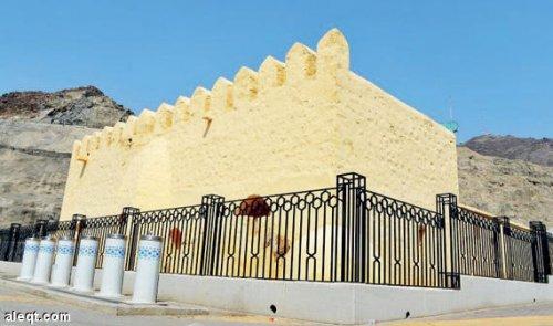 aqabah built in 144AH at the hands of abbasid caliph abu jafar al-mansur.jpg